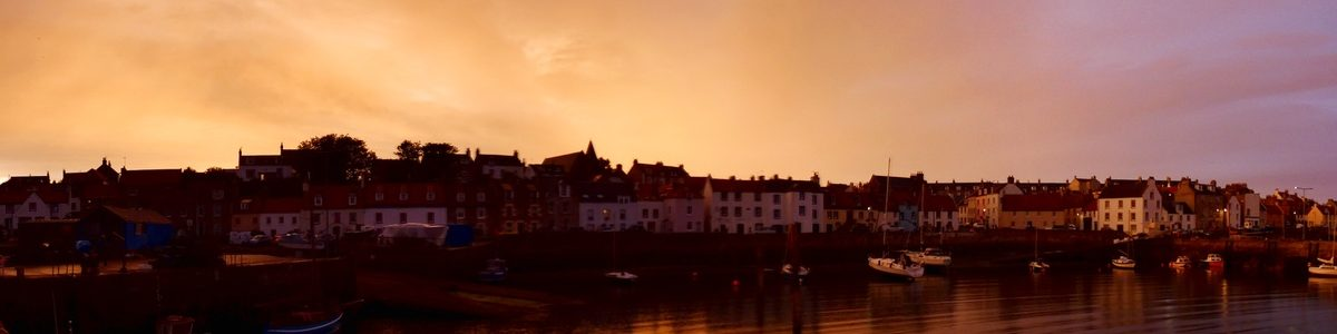 St Monans in a dramatic light